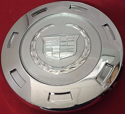 "1 Pcs 2007-2014 Cadillac Escalade Plain Crest 22"" Wheel Center Cap 9596649 ""new"""
