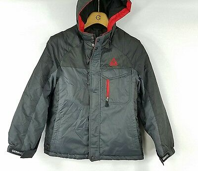 Gerry Youth Boys sz M Ages (10-12) Gray Black 2 Piece Hooded Winter Jacket