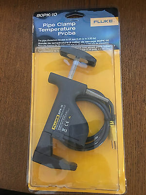 Fluke 80PK-10 Pipe Clamp Temperature Probe