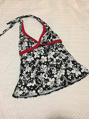 Liz Lange Maternity Tankini Bathing Suit Top Small