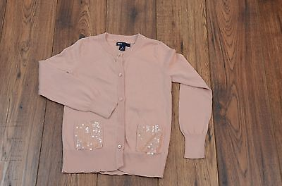 Gap Kids Girl's Cardigan Sweater - Pink, Rose, Size - Small 6 7