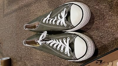 Converse Gray Low Top Mens 10 Womens 12 Unisex NEW Chuck Taylor