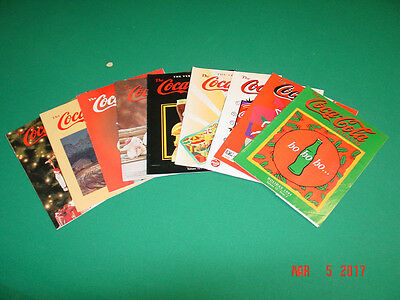 Coca Cola Catalogs--1990's--Illustrated with prices