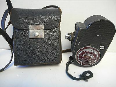 Vintage 1939-1952 Bell & Howell Filmo Sportster Double Run Eight Movie Camera