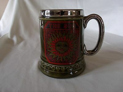 Lord Nelson Pottery England Emerald Green Glazed Vintage Stein