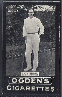 Ogdens Tabs-Series F Cricket Card-#f272- Australia - Lockwood
