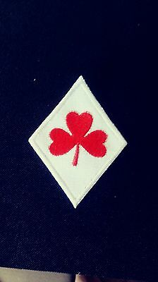 Support 81 Diamond Shamrock Patch Red & White Supporter!!!! 1%er