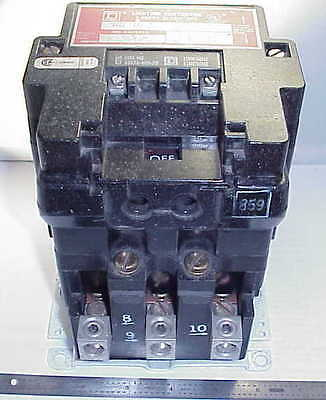 Square D 8903S002Ec 100 Amp Lighting Contactor  120 V Coil - *free Shipping*