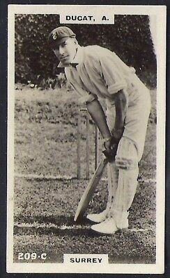 PHILLIPS-CRICKET ERS BROWN BACK F192-#209c- SURREY - DUCAT