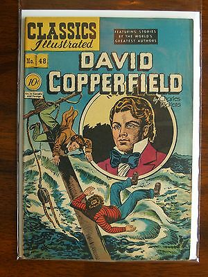 """Rare Vintage Classics Illustrated Issue #48 """"david Copperfield"""""""