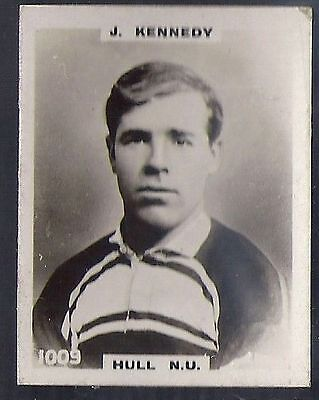 Pinnace Football-Pinnace Back-#1009- Rugby - Hull N.u. - J. Kennedy