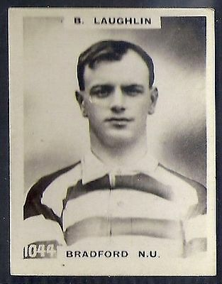 Pinnace Football-Pinnace Back-#1044- Rugby - Bradford N.u. - B. Laughlin