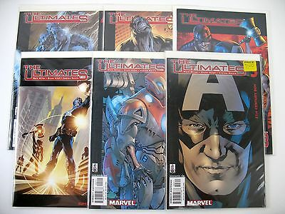 The Ultimates - 1st Series -  #1-5 + 13 - Marvel - High Grade - Six Books