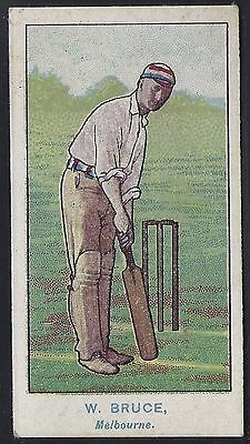 Wills-Australian Club Cricket Ers Blue Back(Brown Frame)- Bruce - Melbourne