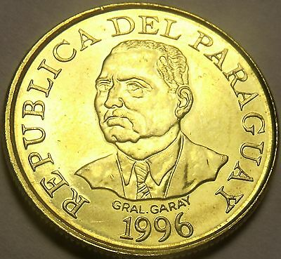 Paraguay 1996 F.A.O. 10 Guaranies Gem Unc~Cow~Last Year Ever~Free Shipping