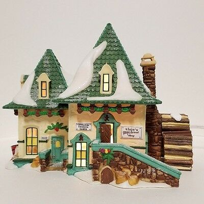 Brand New Department 56 North Pole Series Elsie's Gingerbread 56398 Retired