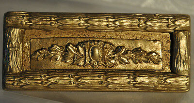 Neoclassical Gilt  Wood Box-Ormolu-Relief-Figural