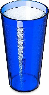 Carlisle 5220-8147 Stackable Shatter-Resistant Plastic Tumbler, 20 oz., Royal of