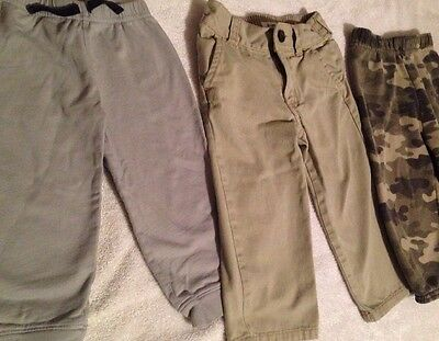 Size 18 Month Boys Pants Lot Of 3