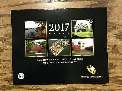 2017 America the Beautiful Quarters Uncirculated Coin Set