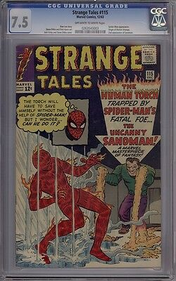 Strange Tales #115 - CGC Graded 7.5 - Origin Of Doctor Strange