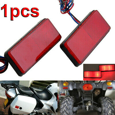 1pc Motorcycle Car Truck Trailer LED Reflector Rear Tail Brake Stop Marker Light