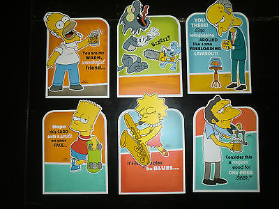 2008 THE SIMPSONS Hallmark Card lot Hard to Find Spring Series Bobblehead