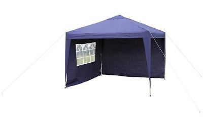 Halfords Pop-Up Outdoor Garden Lightweight Gazebo With Side Panels 3m x 3m