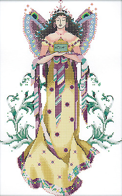Fairy (1) 14CT counted cross stitch kit, 54cm x 36cm fabric. CSK0450