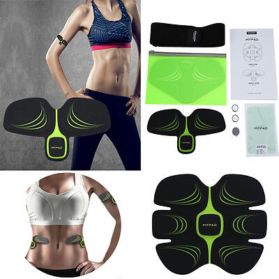 EMS Training Body Building Muscle Training Gear ABS/FITPAD Body Exercise Playing