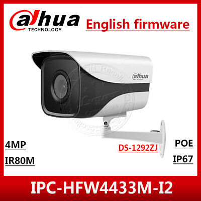 UK STOCK Dahua IPC-HFW4431M-I2 HD PoE 4MP Outdoor Surveillance CCTV Camera 3.6mm