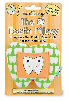 Rich Frog The Tooth Pillow, Green