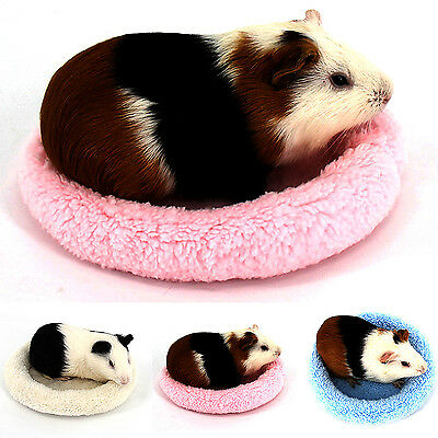 GOOD Guinea Pig Bed Winter Small Animal Cage Mat Hamster Hedgehog Sleeping House