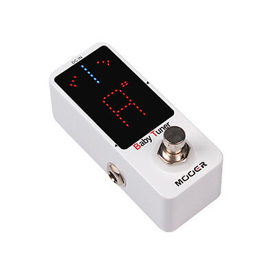 Mooer Micro Series - Baby Tuner Guitar Effects Pedal - Superb Fx Unit