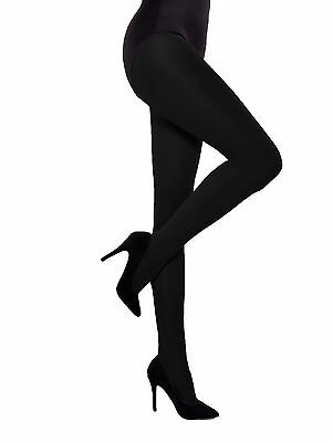 e995d075e WOMENS OPAQUE TIGHTS Hosiery with gusset 40 Denier Pantyhose by ...