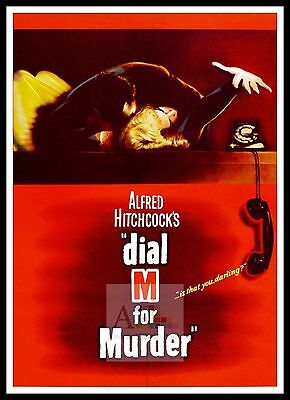 Dial M For Murder   Poster Greatest Movies Classic & Vintage Films