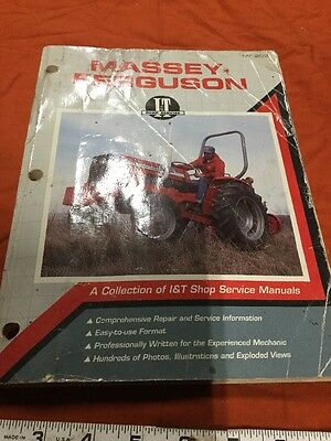 Massey-Ferguson Collection of I&T Shop Service Manuals MF-202