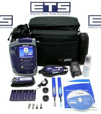 JDSU FBP-SD4iP-PRO Fiber Optic Inspection System HD4iP P5000i Scope FFL-050 VFL