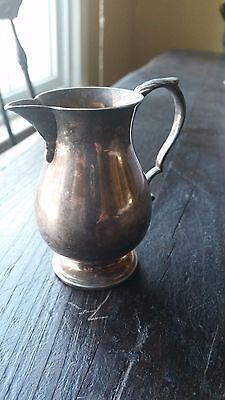ANTIQUE, STERLING SILVER CREAMER,  Made In England