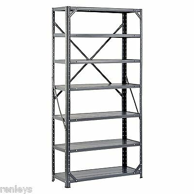 NEW Heavy Duty Metal Rack, 7-Shelf Steel Shelving Unit, Garage Storage Organizer