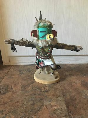 Vintage Hopi Kwa (Eagle) Kachina Doll by Seona