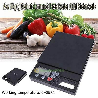 10kg/1g Electronic Commercial Postal Scales Digital LCD Kitchen Hardware Scale