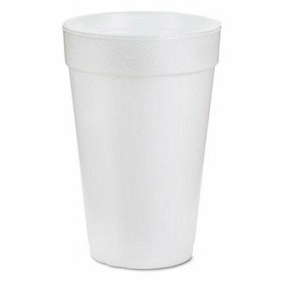 White Styrofoam Cups- Dart 16oz *Pick Qty- 1,50, 100, 250, 500, or 1000* (21175)