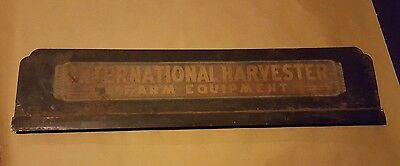 Rare 30's vintage / antique International Harvester Farm Equipment sign