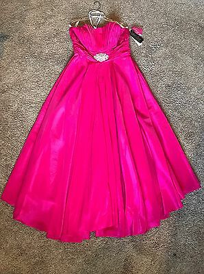 Size 16 Prom Homecoming Formal Pageant Evening Gown Quinceañera Dress NWT!