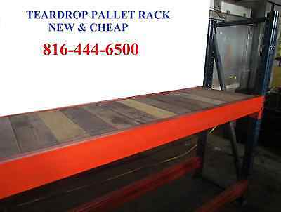 NEW Teardrop Pallet Rack Shelving Racking Sections pallet shelving Interlake