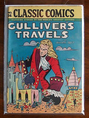 """Rare Vintage Classics Illustrated Issue #16 """"gulliver's Travels"""""""