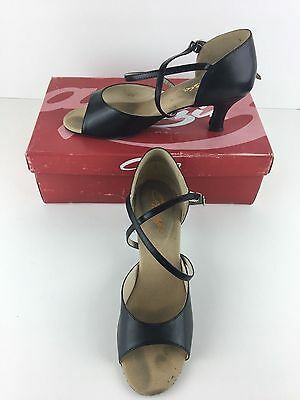 Capezio Eva Women US 8.5 Black Dance Pre Owned SD01