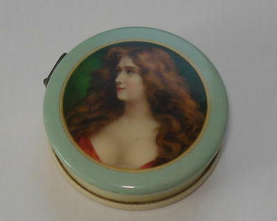 1900's Celluloid Advertising Tape Measure - Asti Lady Beautiful Ex Conditon - OH