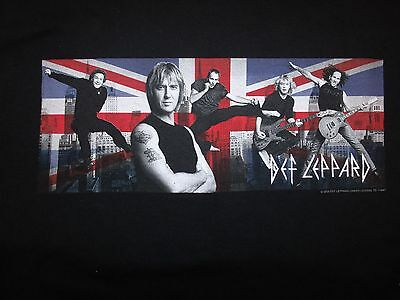 Def Leppard Union Jack T-Shirt By AAA (L)